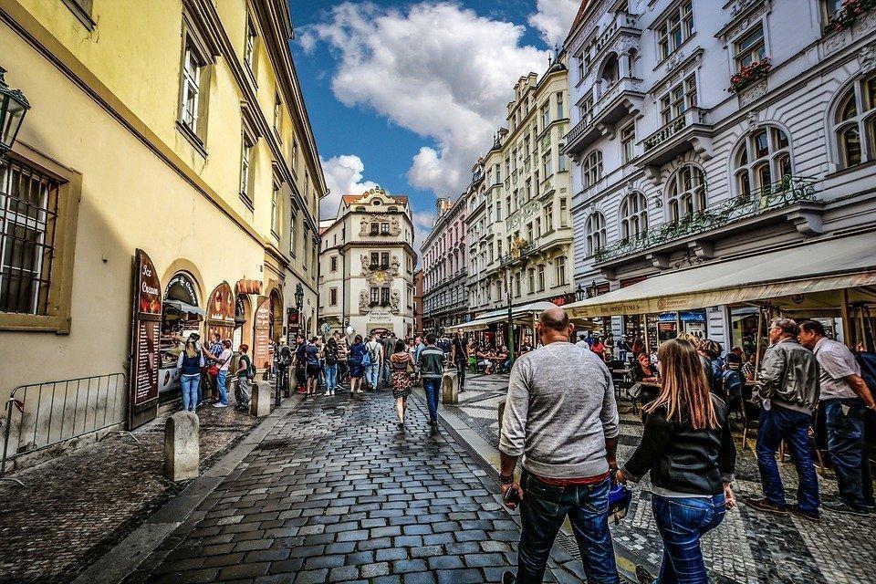 прага чехия фото туристов имеет свою